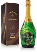 Вино ігристе Mondoro Asti біле солодке 7,5% 0.75л у коробці