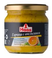 Гірчиця Haas з апельсином 210г