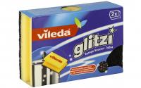 Губка Vileda Glitzi кухонна для делікатного чищення 2шт  х6