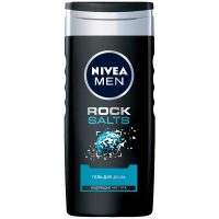 Гель Nivea Men Rock Salts для душу 250мл