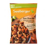 Суміш Seeberger горіхів з оливками 125г х12