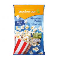 Попкорн Seeberger з сіллю 90г х25