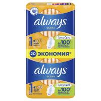 Гігієнічні прокладки Always Ultra Light, 20 шт.