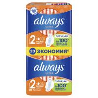 Гігієнічні прокладки Always Ultra Normal Plus, 20 шт.