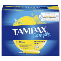 Тампони гігієнічні Tampax Compak Regular, 16 шт.
