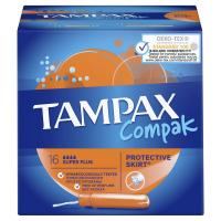 Тампони гігієнічні Tampax Compak Super Plus, 16 шт.