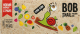 Цукерки Равлик БОБ страйпси Яблуко-малина 14г х12