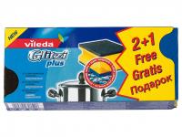 Губка Vileda Glitzi plus кухонна 3шт