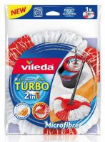 Моп змінний Vileda Turbo для швабри 1шт