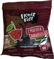 Вишня Fruit Riot сушена без кісточки 30г х6
