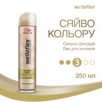 Лак Wella Wellaflex д/волосся Сяйво кольори 250мл
