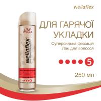 Лак Wellaflex для горячої укладки 250мл