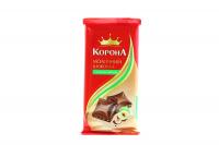 Шоколад Корона Молочний з лісовими горіхами 90г х20
