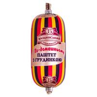 Паштет Бащинський По-домашньому з грудинкою п/о 0.125кг х6