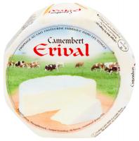 Сир Erival Camembert 125г