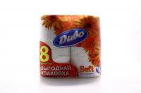 Папір туалетний Диво Soft 2-шар. білий 8шт. х6
