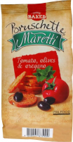 Печиво Maretti Брускети томати-оливки-орегано 70г х12
