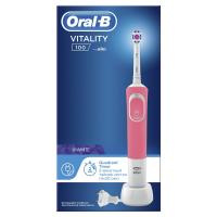 Електрична зубна щітка Oral-B Braun Vitality 100 3D White Pink, 1 шт.