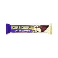 Шоколад Millennium пористий молочний та білий 32г