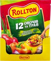 Приправа Роллтон 12 овочів та трав 60г