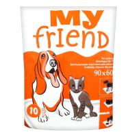 Пелюшки My Friend для  тварин 90*60см 10шт.