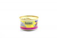Корм Gourmet Gold для котів яловичина 85г х6