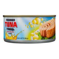 Тунець Polar Seafood Premium Tuna шматочки в оліії ж/б 185г х48