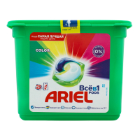 Засіб для прання Ariel в капсулах Color 23*28,8г/662,4г