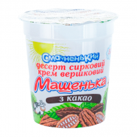 Десерт Вимм-Билль-Данн Машенька з какао 5% 180г х10
