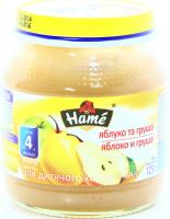 Пюре Hame груша 125г х10