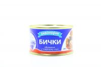Бички Аквамарин обсмажені у томатному соусі 230г х36