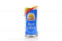 Галети Sonko рисові натуральні 130г х6
