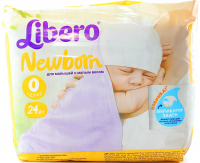 Підгузники Libero Newborn >2.5кг 24шт