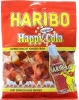 Цукерки Haribo Happy Cola 200г х24