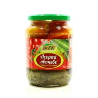Асорті овочеве Prok томати та огірки с/б 720мл х8