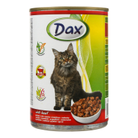 Консерва для котів DAX яловичина 415г