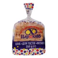 Хліб Цархліб Для тостів Фітнес 350г наріз. в упаковці
