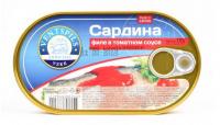 Сардина Ventspils філе в томатному соусі 170г