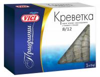 Креветки Vici Тигрова чорна сиро-морож.в панцирі з/г 1кг