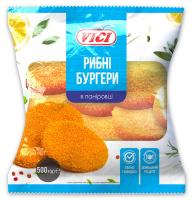 Бургери рибні Vici н/ф 500г