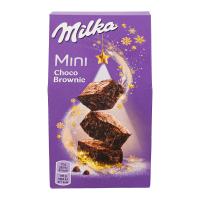 Тістечко Milka Mini Choco Brownie зі шмат.молоч.шоколаду 117г х1