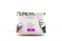 Палички ватяні O`Linear Silk touch 160шт х6