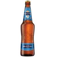 Пиво Балтика №3 класичне світле фільтроване 4.8% с/б 0.5л