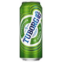 Пиво Tuborg Green з/б 0,5л