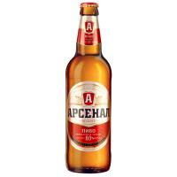 Пиво Арсенал міцне с/б 0,5л