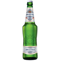 Пиво Балтика №0 безалкогольне с/б 0,5л