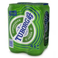 Пиво Tuborg Green ж/б 4*0,5л