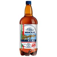 Пиво Мінське Жигулівське світле 1.5л