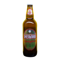 Пиво Хмельпиво Проскурівське світле живе непастеризоване 3,7% с/б 0.5л