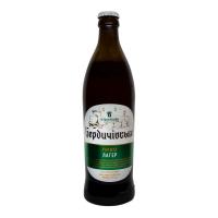 Пиво Бердичівське Лагер світле живе непастеризоване 3,8% с/б 0,5л